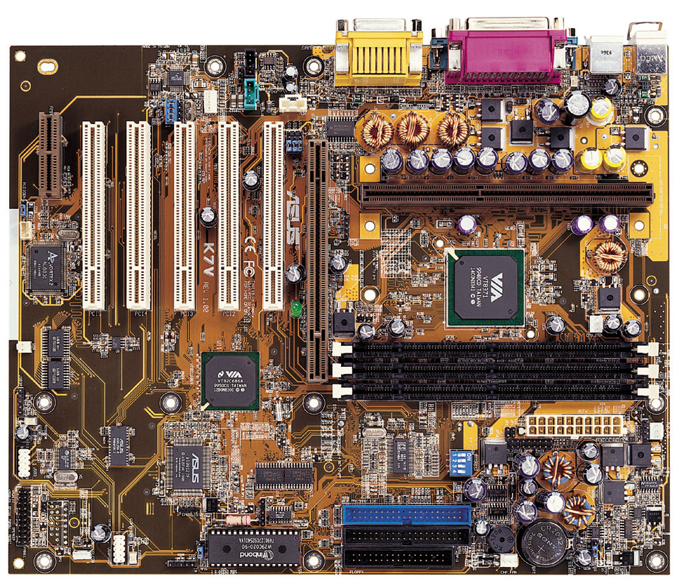 Weekly News Update Diagram Of How All The Components Are Placed On Asus Cubx Athlon 1ghzathlonk7vk7v Rm K7vatxk7v Rmmicroatxapollo Kx133 Http Asuscomtw