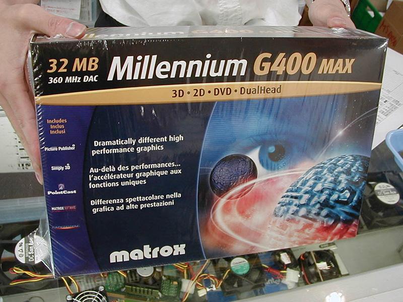「2D最強」と言われたMatroxのMillenniumシリーズ(11/12)
