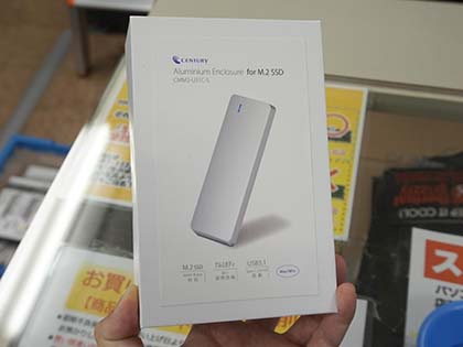M.2 SSDをUSB 3.1 Type-Cに変換する高級アルミケースが登場 - AKIBA PC ...
