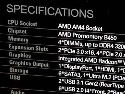 ASRockのB450マザーはゲーム向けMini-ITXを含めた計5モデル - AKIBA PC