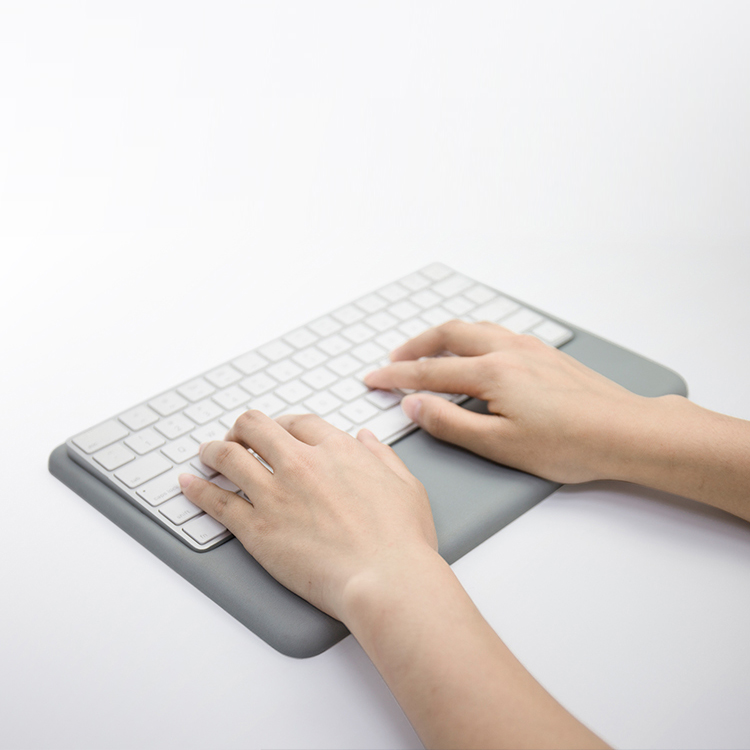 Wrist Rest for Magic Keyboard Grey