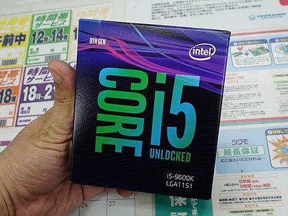 7c65663a6a 「Coffee Lake Refresh-S」こと第9世代Intel Coreプロセッサが遂に発売された。販売されているのは「Core  i5-9600K」の1モデル。対応するIntel Z390マザーは発売済み ...
