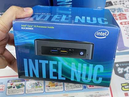 最新Intel NUC「BEAN CANYON」が計4モデル発売、Core i7/i5は4