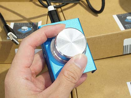 手元で音量調整できるUSBボリュームコントローラが上海問屋から ...