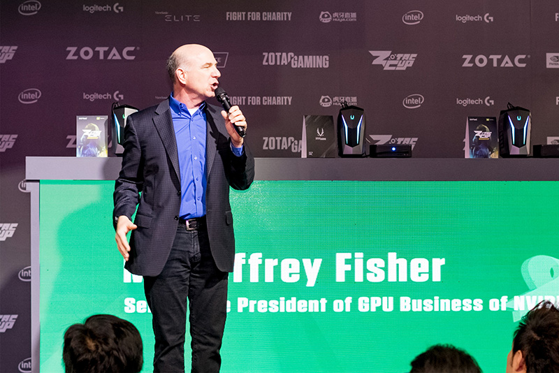 NVIDIAのJeffrey Fisher氏(Senior Vice President of GPU Business)