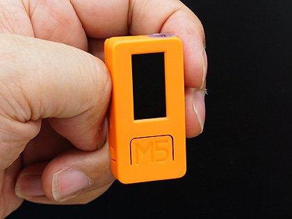 【製品】1,800円の超小型Arduinoモジュール「M5StickC」が発売、カラー液晶やWi-Fiを搭載