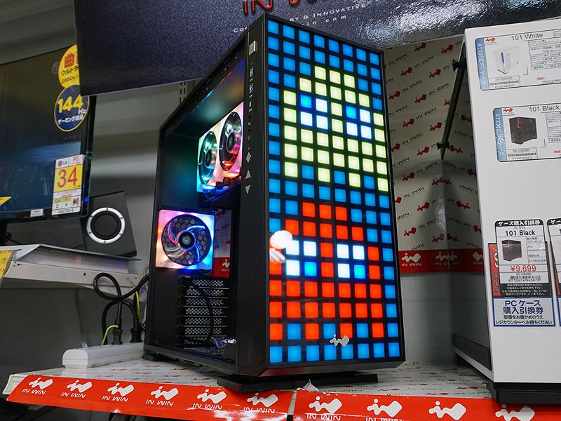 【PCパーツ】巨大なドット絵が表示できるPCケース「IN WIN 309」が発売