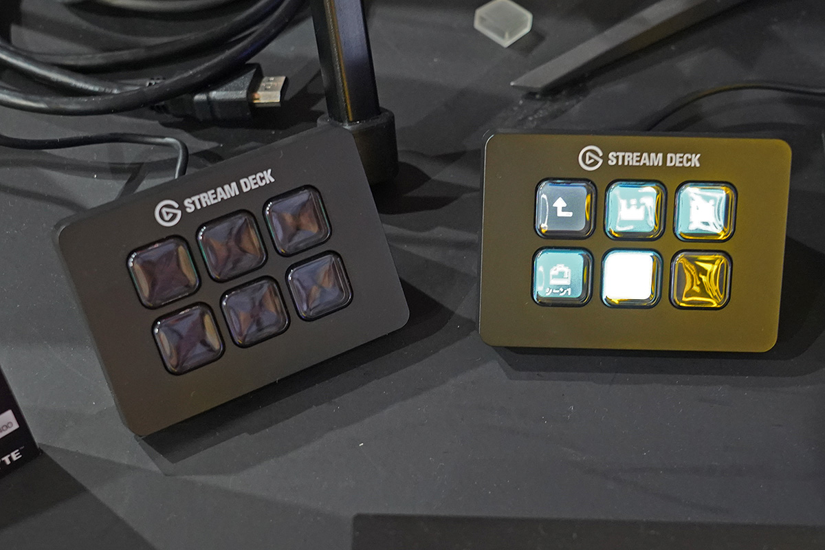 6キーの「Stream Deck Mini」。