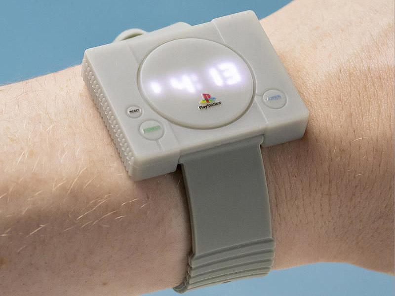 【グッズ】初代プレステをモチーフにした腕時計「PlayStation Watch」が入荷