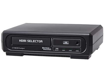 メガCD風のHDMIセレクターが発売、メガドライブミニにぴったりな小型 ...