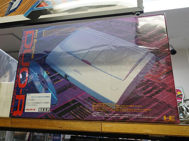 【ゲーム/ハード】「PCエンジンDUO-R」の未使用品が奇跡の入荷!驚きの実売10万円越え