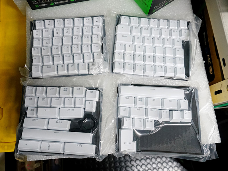 PBT Keycap Upgrade Set(写真はMercury White)