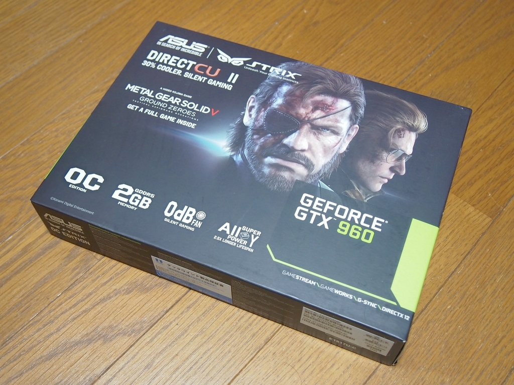 ASUSTeK STRIX-GTX960-DC2OC-2GD5-SP