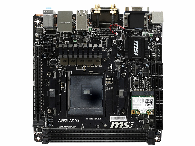 Socket FM2+ / AMD A88X / Mini-ITX