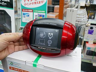 3.5型タッチ液晶搭載の「かんたんインターネットラジオ」が発売