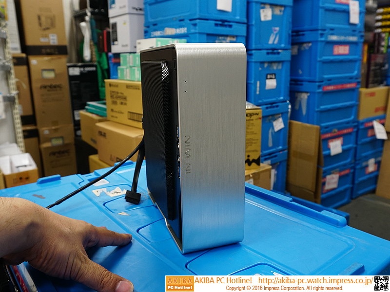 6a189a8b38 縦置き・横置きが可能な小型Mini-ITXケース「Chopin」が24日に発売 - AKIBA PC Hotline!