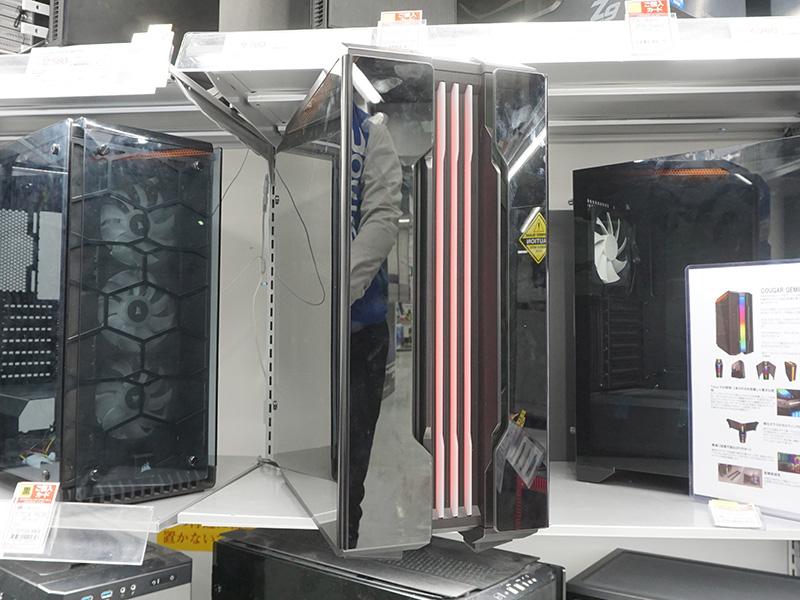 """7bfd88a295 鮮やかに光る""""RGBレンズ""""を搭載したタワーケース「GEMINI T」が発売、COUGAR製 - AKIBA PC Hotline!"""