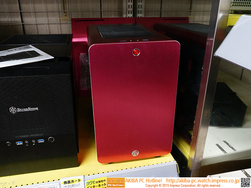 404395716d 側面にスロットイン式ベイを備えたmicroATXケース「STYX」が発売 - AKIBA PC Hotline!